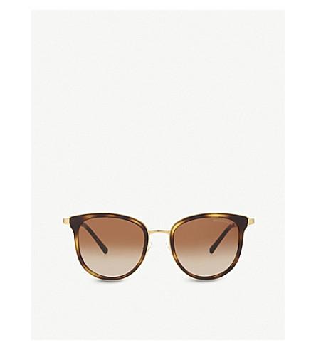 MICHAEL KORS MK1010 Adrianna I round-frame sunglasses (Tortoise