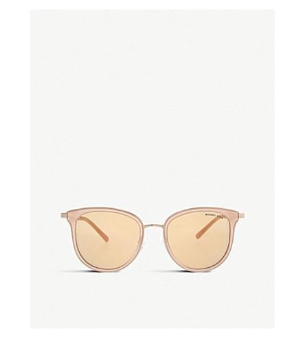 MICHAEL KORS MK1010 Adrianna I round-frame sunglasses (Pink