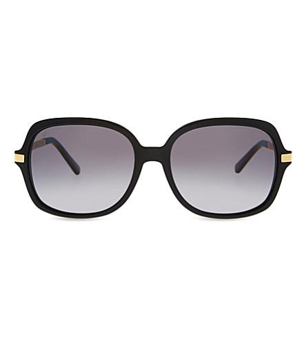 MICHAEL KORS MK2024 Adrianna II square-frame sunglasses (Black