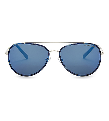 MICHAEL KORS Mk1019 aviator sunglasses (Navy