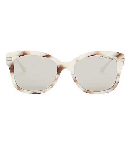 MICHAEL KORS Mk2047 Lia square-frame sunglasses (Pink