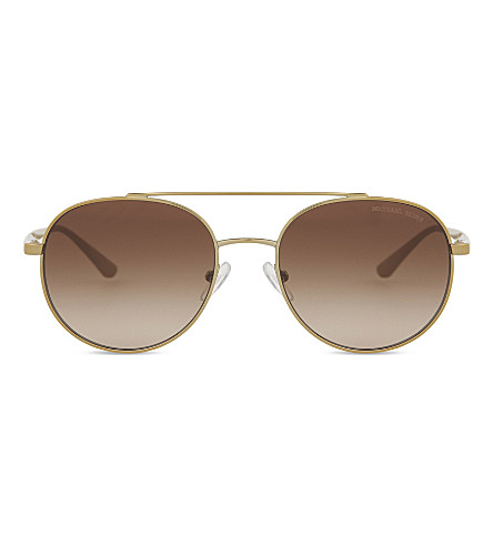 MICHAEL KORS MK1021 Lon Aviator sunglasses (Gold