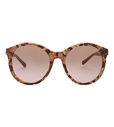 MICHAEL KORS Mk2048 round-frame sunglasses (Pink