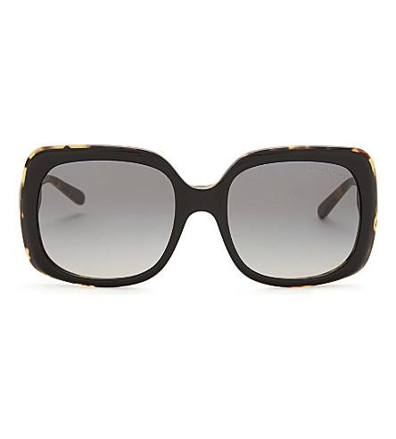 MICHAEL KORS Mk2049 square-frame sunglasses (Tortoise