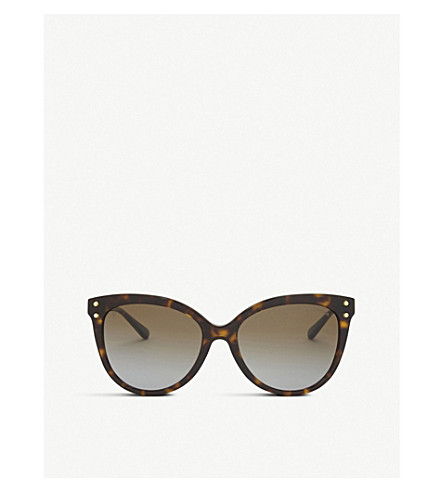 MICHAEL KORS Mk2045 Jan cat eye-frame sunglasses (Brown