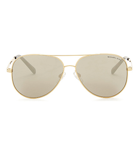 MICHAEL KORS Mk5016 Kendall aviator sunglasses (Gold