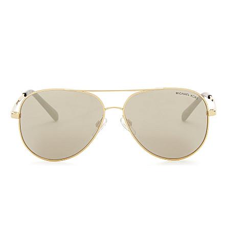 MICHAEL KORS Mk5016 Kendall aviator sunglasses (Gold
