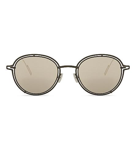 DIOR Dior0210S round-frame sunglasses (Gold+green