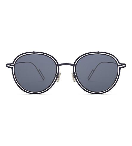 DIOR Dior0210S round-frame sunglasses (Blue+silver