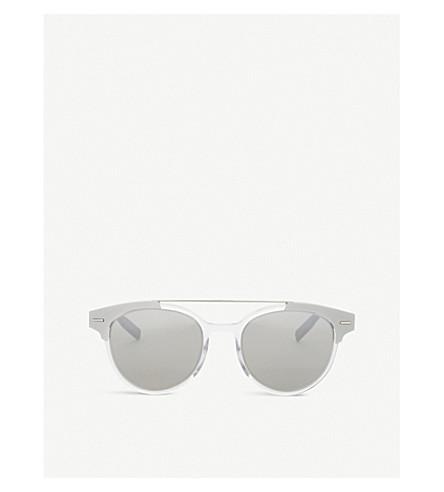 DIOR AL13.9 round-frame sunglasses (Silver