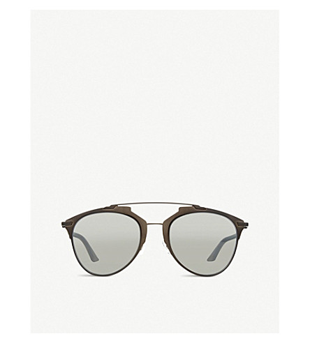 DIOR Pilot sunglasses (Black+metallic