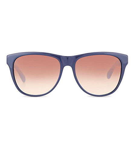 MARC JACOBS 408S Blue sunglasses (Black+blue