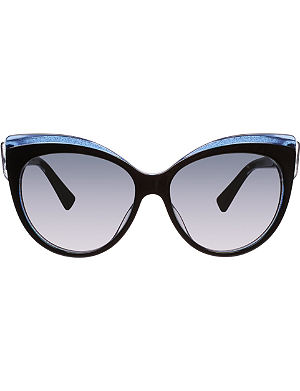 DIOR Polarised rectangular sunglasses
