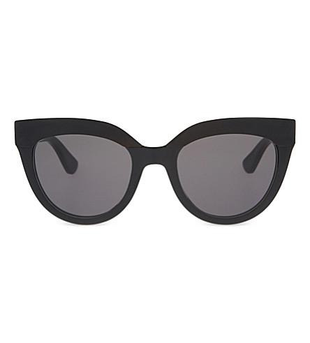 ffcd2ddc6b4 DIOR Black cat-eye sunglasses (Black+shiny