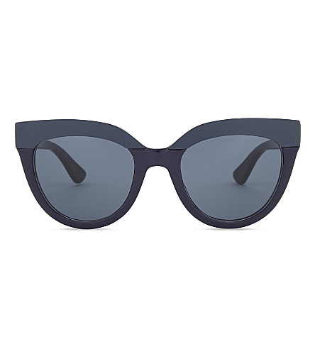 DIOR Diorsoft1 round-frame sunglasses (Blue