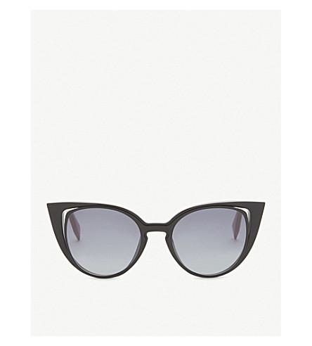 FENDI Ff0136 cat-eye sunglasses (Black
