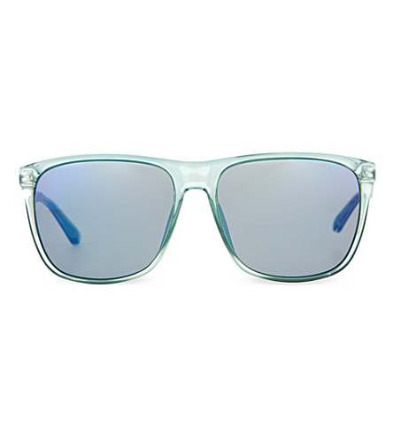 MARC JACOBS MMJ 424/S square sunglasses (Green+silver