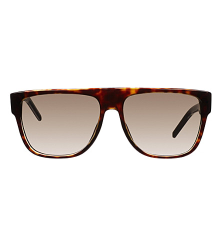 DIOR Rectangle tortoiseshell sunglasses CD000535 (Tortoise