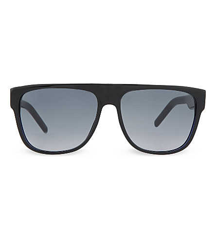 DIOR Blue black rectangle sunglasses BLACKTIE188S (Blue+black