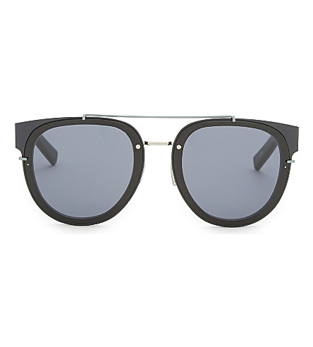 DIOR 143sa aviator sunglasses (Blue+black