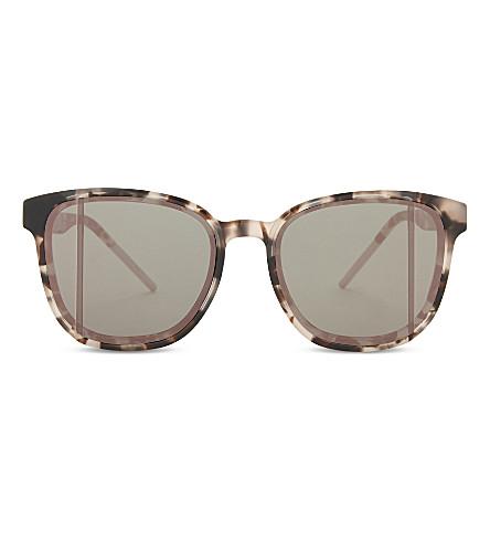 2b33ccb2b76 DIOR Diorstop tortoiseshell square-frame sunglasses (Tortoise+pink