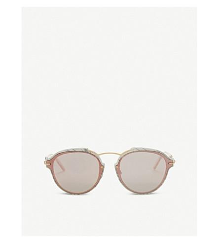DIOR Dioreclat round-frame sunglasses (Gold