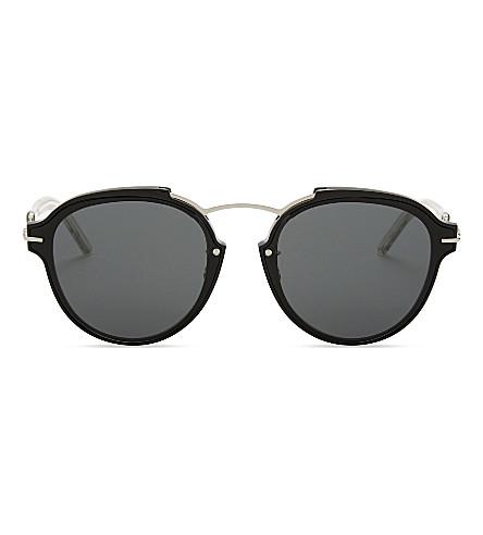 DIOR Dioreclat round-frame sunglasses (Black