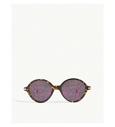 DIOR Umbrage round-frame sunglasses (Tortoise+gold