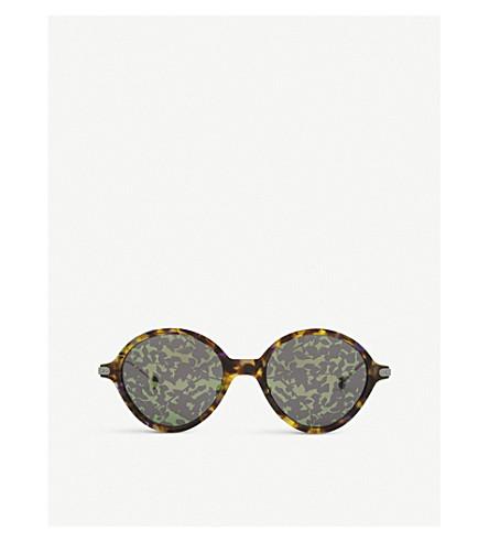 DIOR Umbrage round-frame sunglasses (Black+platinum