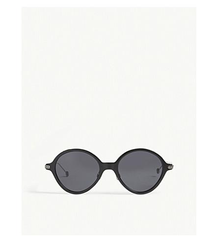 DIOR Umbrage round-frame sunglasses (Gunmetal+black