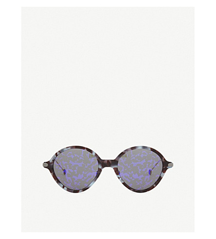 DIOR DiorUmbrage round-frame sunglasses (Tortoise+black