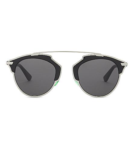 DIOR Soreal round-frame sunglasses (Black