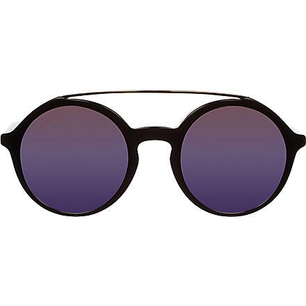 GUCCI Round gradient sunglasses GC000615 (Black
