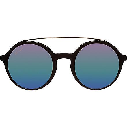 GUCCI Round gradient sunglasses GC000615 (Black