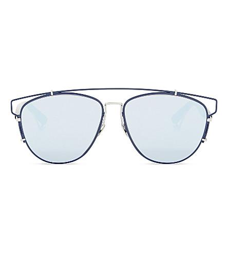 DIOR Technologic OCd aviator sunglasses (Blue+black