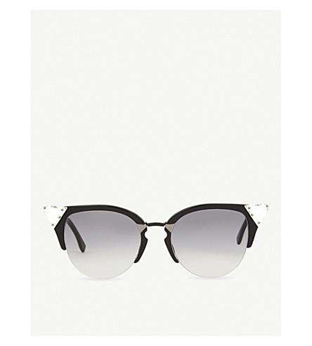 FENDI FF0041 cat-eye sunglasses (Black