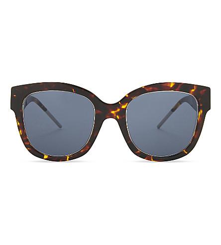 DIOR VeryDior1 square-frame sunglasses (Tortoise
