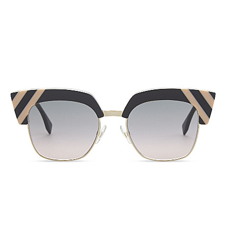 FENDI Ff0241 square-frame sunglasses (Grey