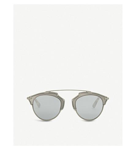 DIOR So Real round sunglasses (Tortoise silver