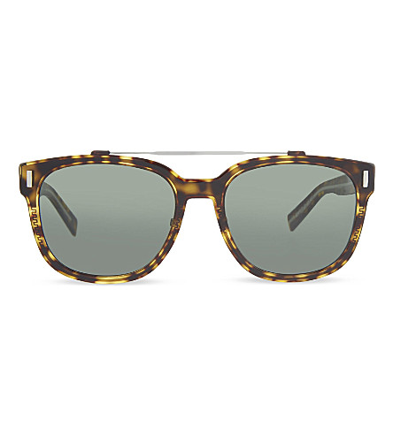 DIOR Tortoise shell aviator sunglasses (Brown