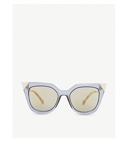 FENDI Ff0060 cat-eye sunglasses (Blue grey