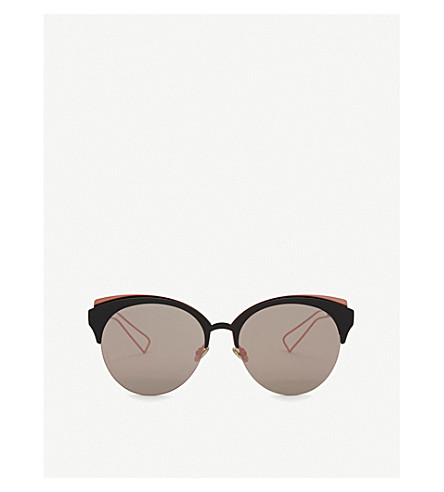 DIOR Dioramaclub cat-eye sunglasses (Black+pink