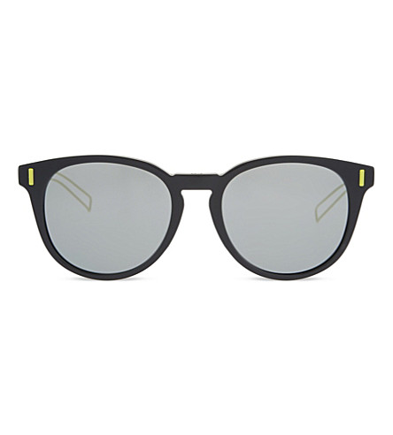 DIOR Blacktie 206FS round-frame sunglasses (Grey