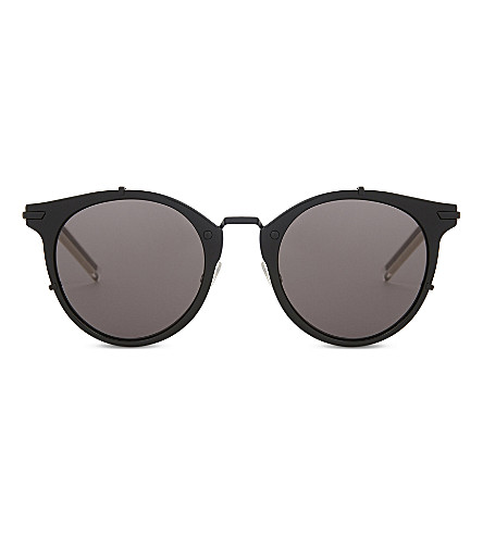 DIOR Dior0196 cat-eye sunglasses (Black+shiny