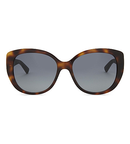 DIOR Dior Lady 1R tortoiseshell sunglasses (Tortoise+blue