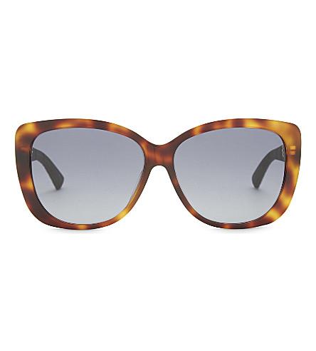 DIOR Diorlady tortoiseshell sunglasses (Tortoise+blue
