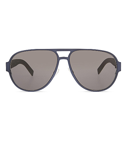 DIOR Dior0190S aviator sunglasses (Black+green