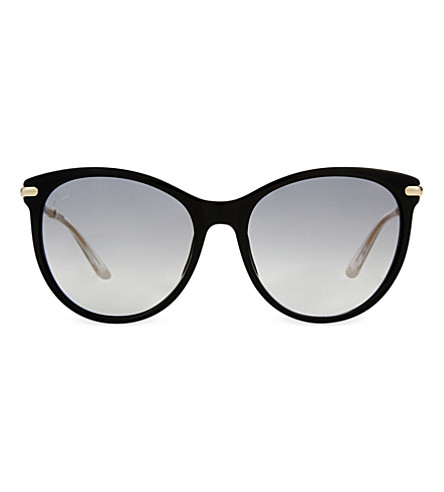 GUCCI GG3771 black cat-eye sunglasses (Black