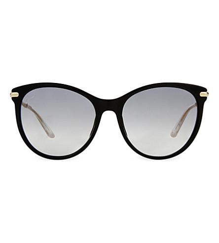 GUCCI GG3771 black cat-eye sunglasses (Black