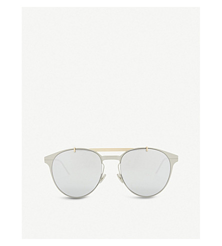 DIOR Motion 1 mirrored sunglasses (Gunmetal+dark